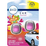 Febreze Car Odor-Eliminating Air Freshener Vent Clips With Gain Scent - Island Fresh - 2ct