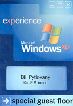 Windows XP Launch Party Badge