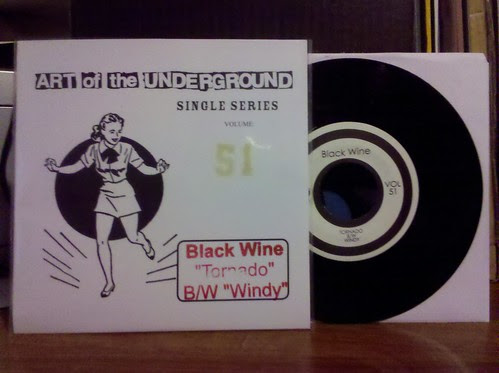 Black Wine - Art Of The Underground 7""