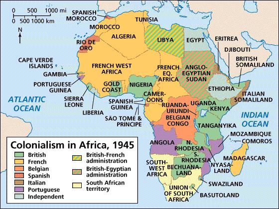 colonialismo em áfrica