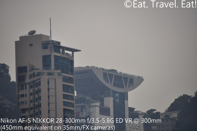 Hong Kong- The Peak: Nikon AF-S Nikkor 28-300mm at 300mm