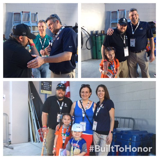 AFSFA | Air Force Security Forces Association - Military Hero Who Served Six Tours of Duty Surprised with New Home at Florida-UGA Game