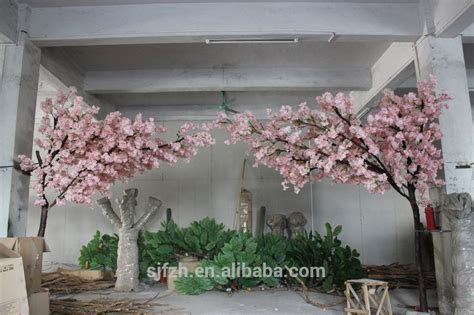 Indoor Dry Tree For Wedding Decoration Artificial Cherry