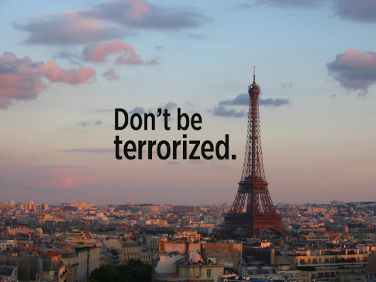 Don't Be Terrorized | Rick Steves' Travel Blog