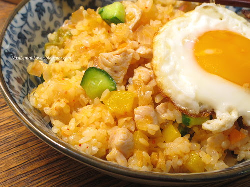 Fried Korean Rice Cakes With Sugar