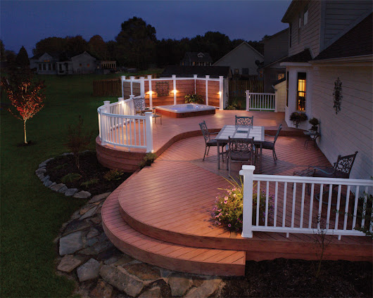 Deck Lighting Can Bring Your Backyard to Life this Summer and Fall | Outdoor Lighting Perspectives