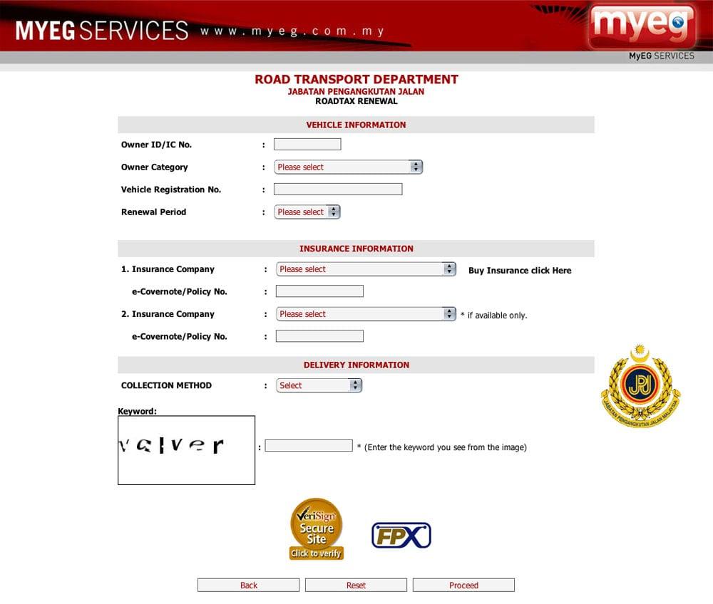 Pay Car Tax Online Blog Otomotif Keren