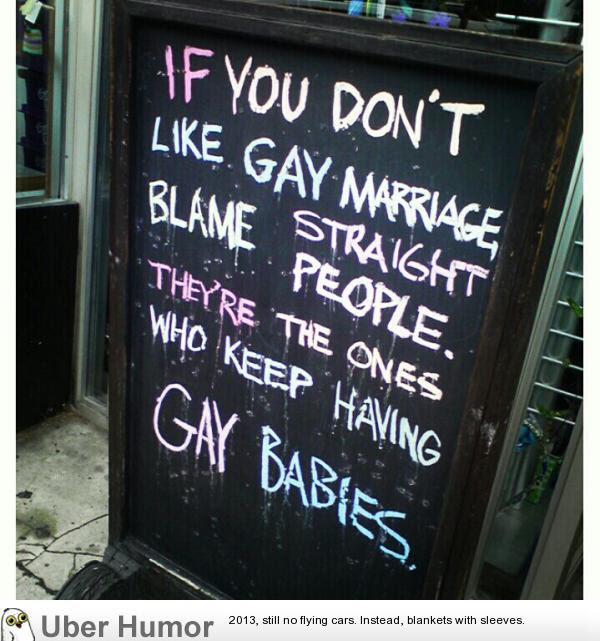Yet Another Twist In The Gay Marriage Uproar Funny Pictures