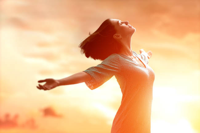 Image result for woman feeling peaceful