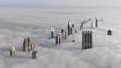 Foggy Dubai por daveandmairi