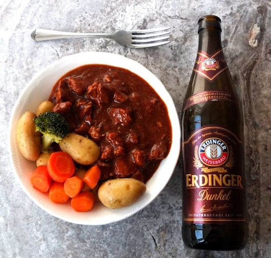 German Pork and Beef Beer Goulash