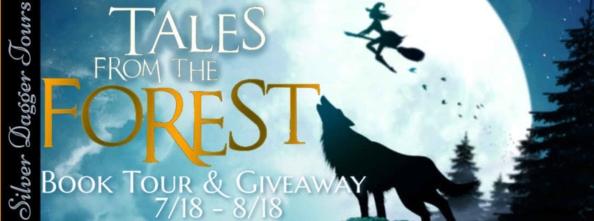 Book Tour Banner for the young adult novel Tales from the Forest by Johanna Sarah Aldridge with a Book Tour Giveaway