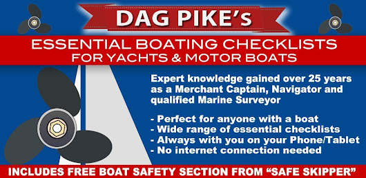 Dag Pike's Essential Boating Checklists - Yachts & Motor Boats