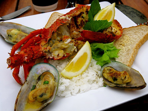 Crayfish and Mussels