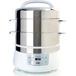 Euro Cuisine FS2500 Steel Steamer - 8.5 qt