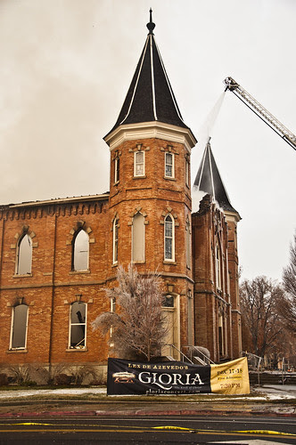 Provo Tabernacle Fire