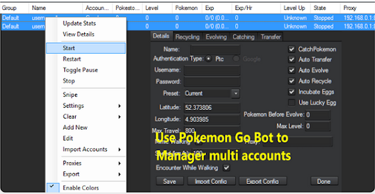 Choose the Best Pokemon GO Proxies to manager multi-accounts on Bot | Best Paid Proxies