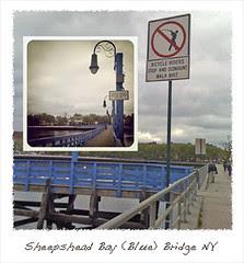 Brooklyn NY Blue Bridge Sheepshead Bay