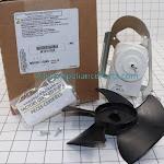 Whirlpool Refrigerator Condenser Fan Motor W10181323, Size: Standard