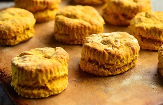 Vegan Pumpkin Biscuits Giveaway!