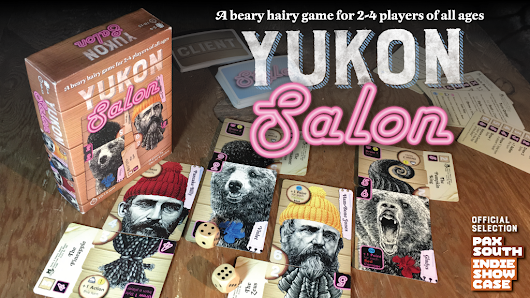 Update 15: You get a book, and you get a book, and YOU get a book…everyone gets a book! · Yukon Salon: A Beary Hairy Game