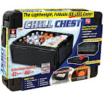 As Seen On TV 41 qt Chill Chest Cooler, Black