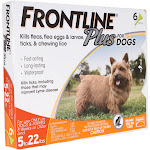 Frontline Plus Flea & Tick Control for Small Dogs - 6 count