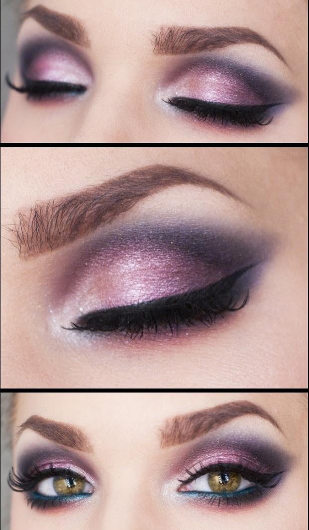 14 Glamorous Purple Eye Makeup Looks - Pretty Designs