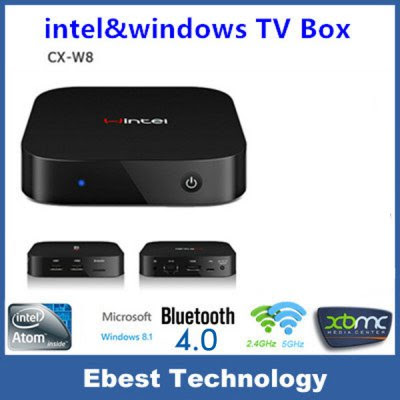 Wintel 8 Bluetooth 4.0 WiFi TV Box Built-in IR Receiver 2GB / 32GB Micro TF Card 5V / 3A-99.89 and Free Shipping| GearBest.com