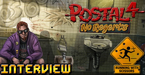 Postal 4: No Regerts interview with Running With Scissors - Postal 4, the future and thoughts on censorship