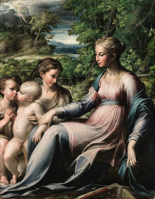 Export bar placed on Parmigianino painting in the UK - Apollo Magazine