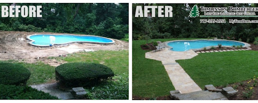 Cool Pool Patio Installation in Lancaster, PA | Tomlinson Bomberger