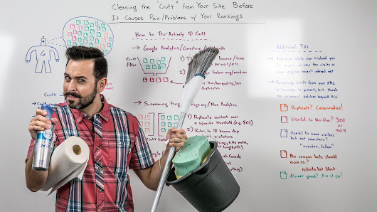Clean Your Site's Cruft Before It Causes Rankings Problems - Whiteboard Friday