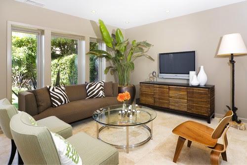 Amoroso Design modern living room