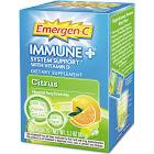 Emergen-C Immune Plus Packets, Citrus - 10 pack