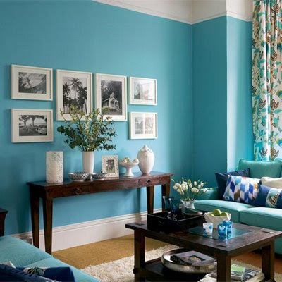 Home Interior Design on This Year  Home Interior Designers Are Using Turquoise As The Main