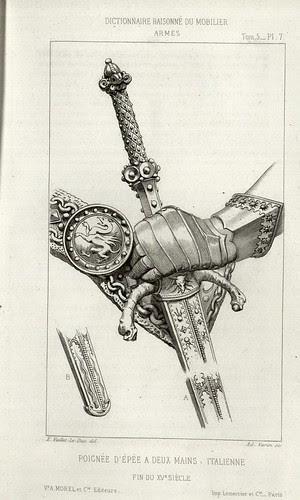 15th century sword hilt