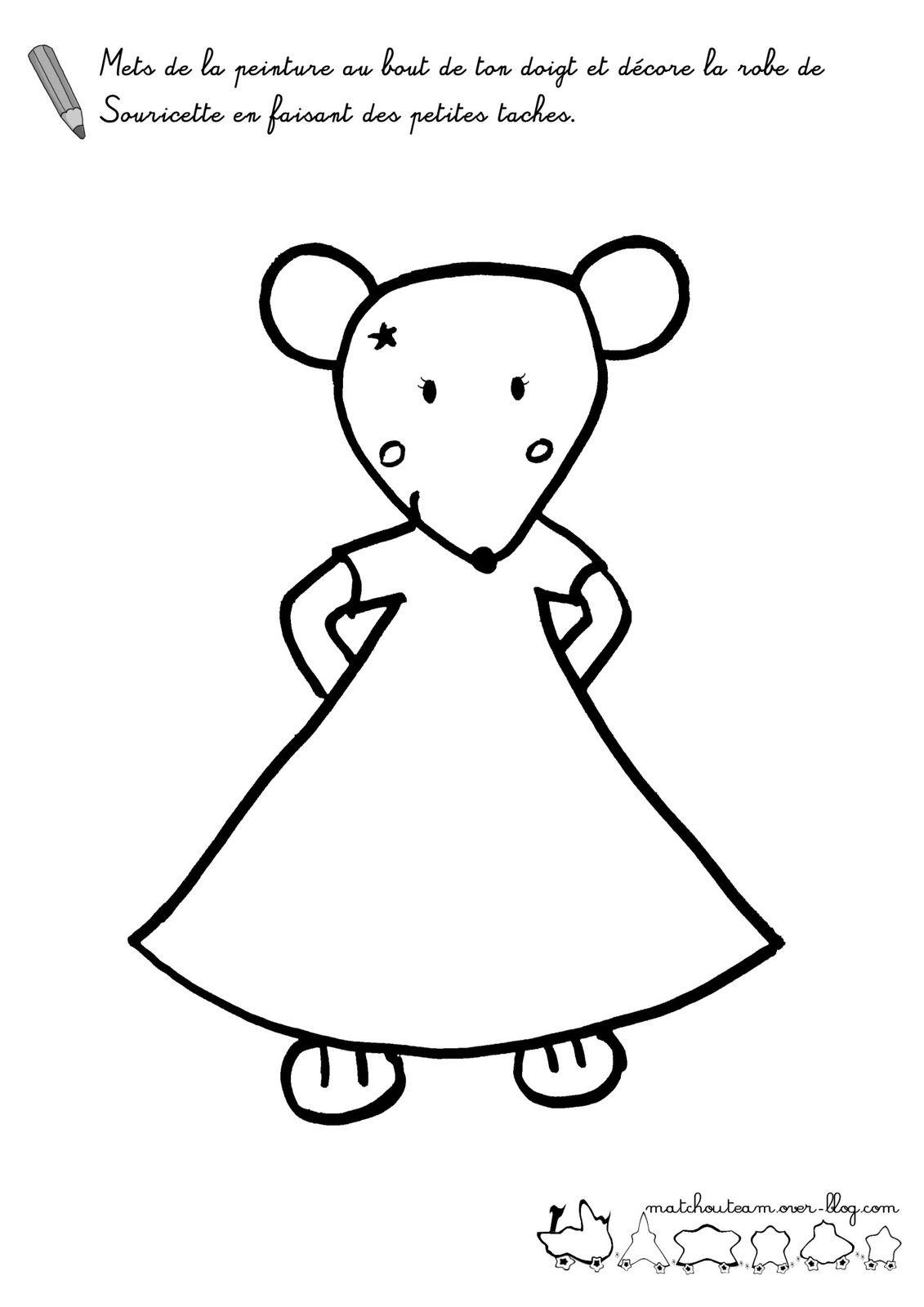 15 coloriage a imprimer mimi la souris haut coloriage hd images et imprimable gratuit - Coloriage minnie robe ...