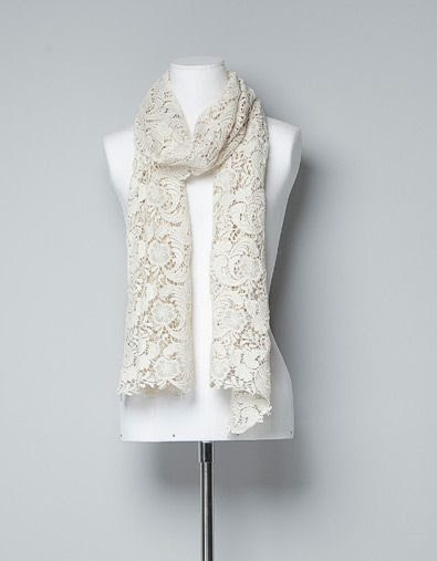 Zara Special Edition Lace Scarf