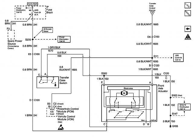 Wiring Diagram: 35 Chevy 4wd Actuator Upgrade Wiring Diagram