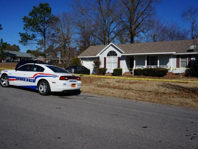Fayetteville police said a wife accidentally shot her husband, thinking he was an intruder at their home on Christian Street.<br/>Photographer: Gilbert Baez