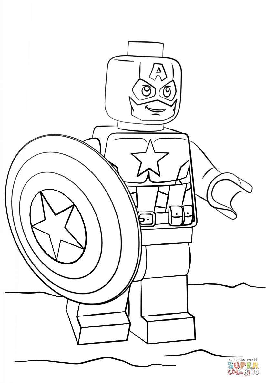 Beautiful Spiderman And Captain America Coloring Pages Anyoneforanyateam