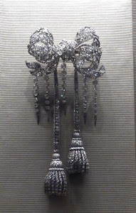 Empress Eugenie Brooch. Photo by Kurt, Travel To Eat Blog.