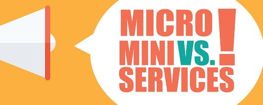 Miniservice: Pragmatic Microservices Architecture