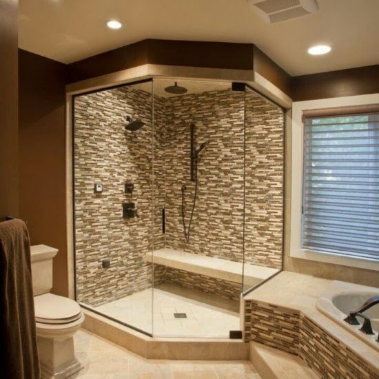 Bathroom design - Fabulous Walk in Shower Ideas