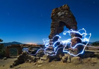 Blue Light Photography of Toby Keller