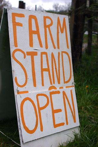 farm stand open