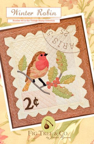 Fresh Figs: patterns Winter Robin