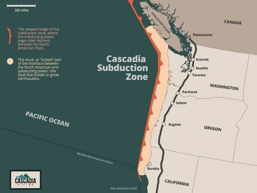 Risk Of Cascadia Quake Elevated As Puget Sound 'Slow Slip' Event Begins