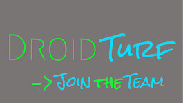 Join the team at Droid Turf!